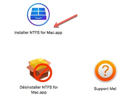 Installer Paragon NTFS sur MAC.