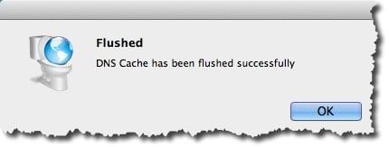 Vider son cache DNS sous Mac avec DNS Flusher