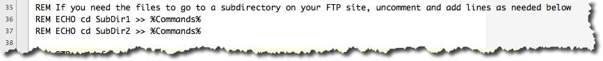 exemple de script ftp