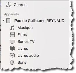 Transférer un iPhone vers un autre avec iTunes