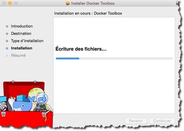 Installer Docker ToolBox