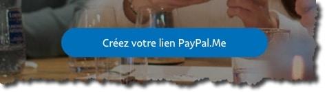 comment créer un lien Paypal.me
