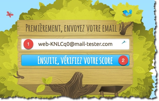 tester son email avec mail-tester.com