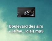 fichier MP3 disponible sur votre ordinateur