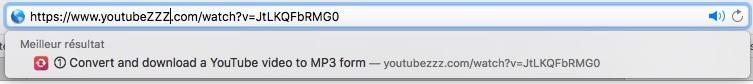 astuce pour télécharger directement un fichier MP3 depuis Youtube