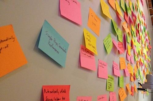 réaliser un brainstorming avec un écran interactif