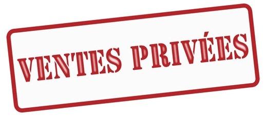 ventes privées sur Internet