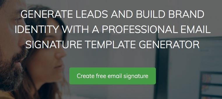 créer une signature pour ses mails avec MySignature.io