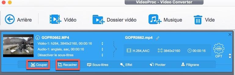 Réduire la taille d'une vidéo sans perte de qualité avec VideoProc