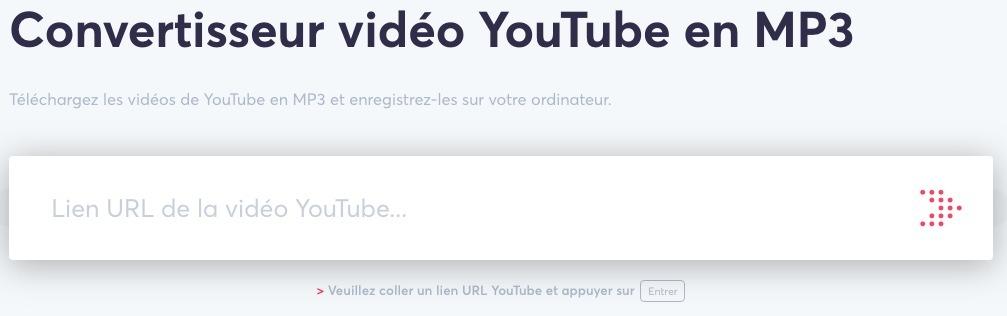 Utiliser un convertisseur Youtube MP3 en ligne comme ClickMP3