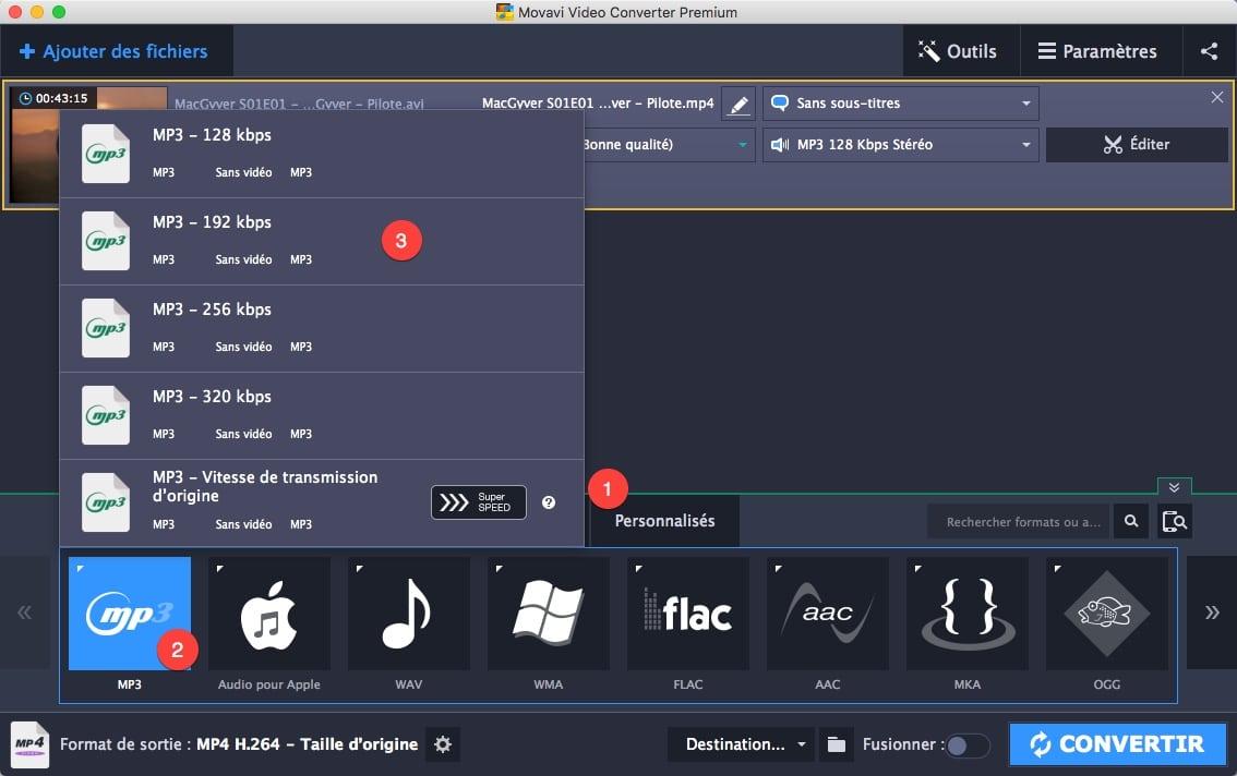 Convertir une vidéo en MP3 grâce à Movavi Video Converter