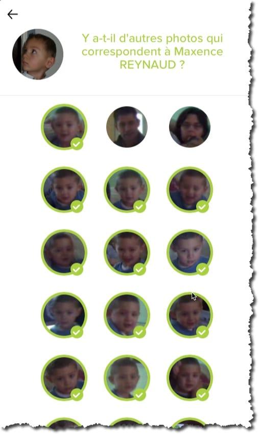 Apprenez à la caméra à reconnaitre vos amis et personnes familières pour diminuer les notifications