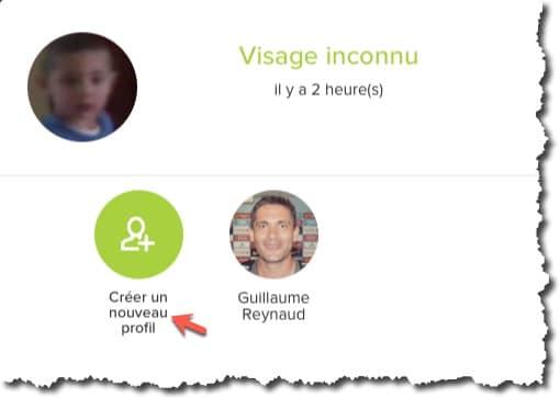 Créer un profil pour les personnes familières et amis sur votre caméra Netatmo Welcome pour supprimer des notifications inutiles