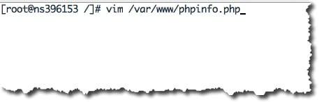 Tester si PHP est bien installé sous CentOS avec le fichier phpinfo.php