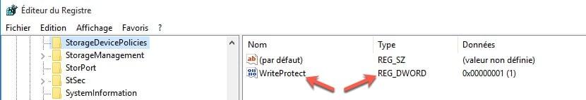 Interdire l'écriture sur les clés USB sur votre Windows grâce à la base de registre.