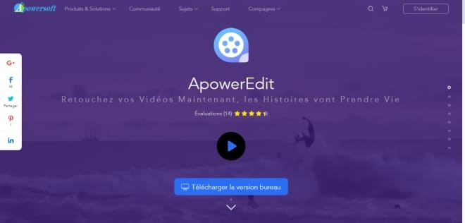 Trouver de nombreux tutoriel pour vous familiarisez avec le logiciel ApowerEdit
