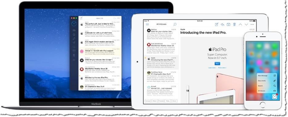 Airmail un lecteur de mails puissant et ergonomique sous MAC OS X