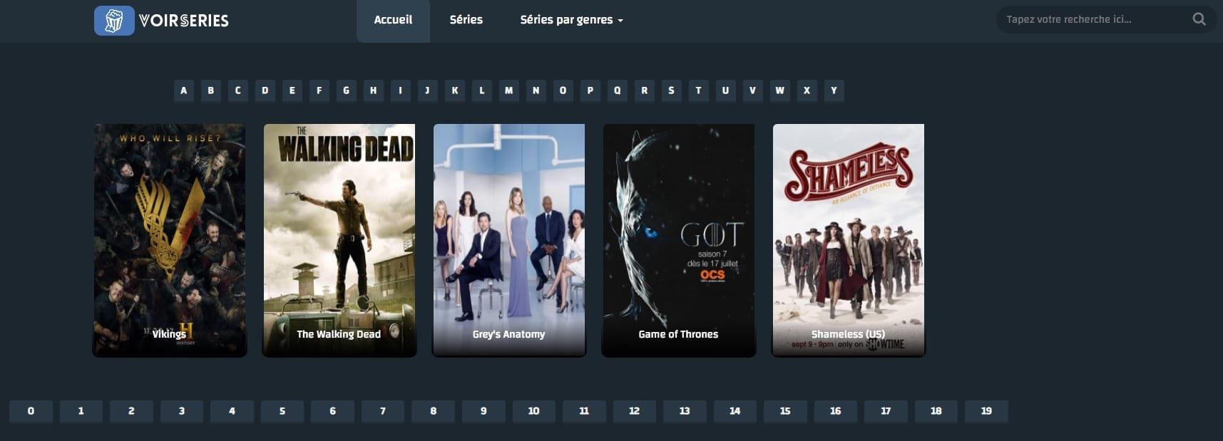 Voir des séries gratuitement en streaming et en HD.