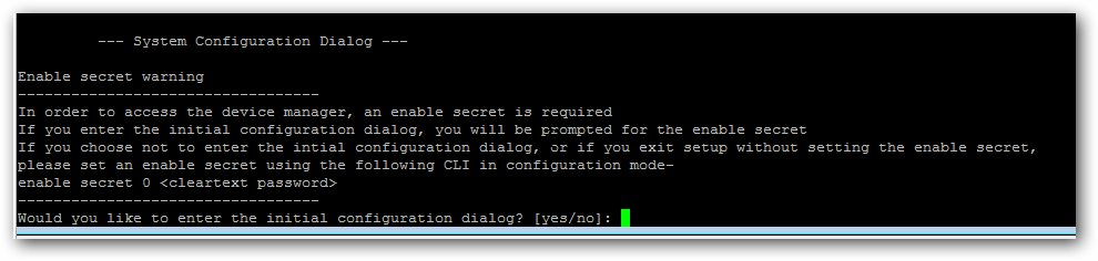 Retrouver une configuration usine sur vos switchs Cisco.