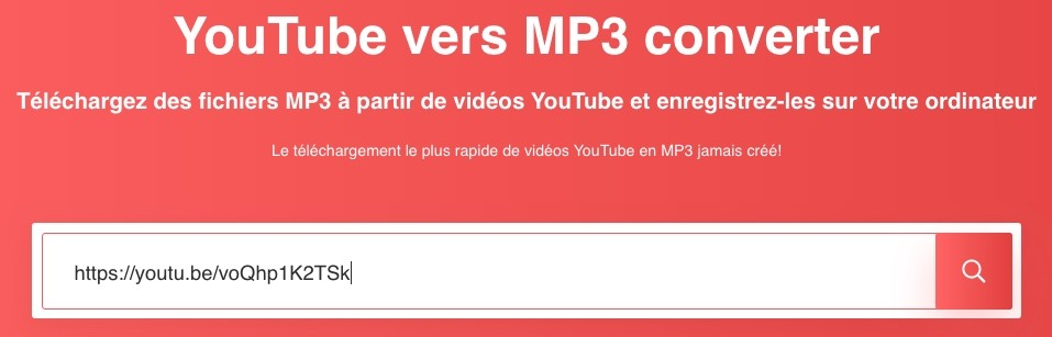 Convertir des vidéos Youtube avec go-mp3.