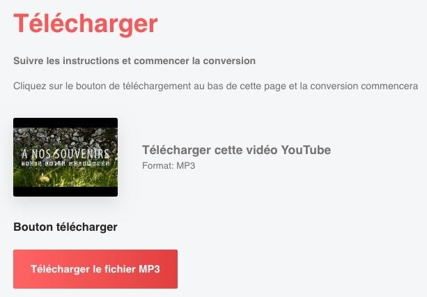 Convertir gratuitement des vidéos Youtube avec go-mp3.