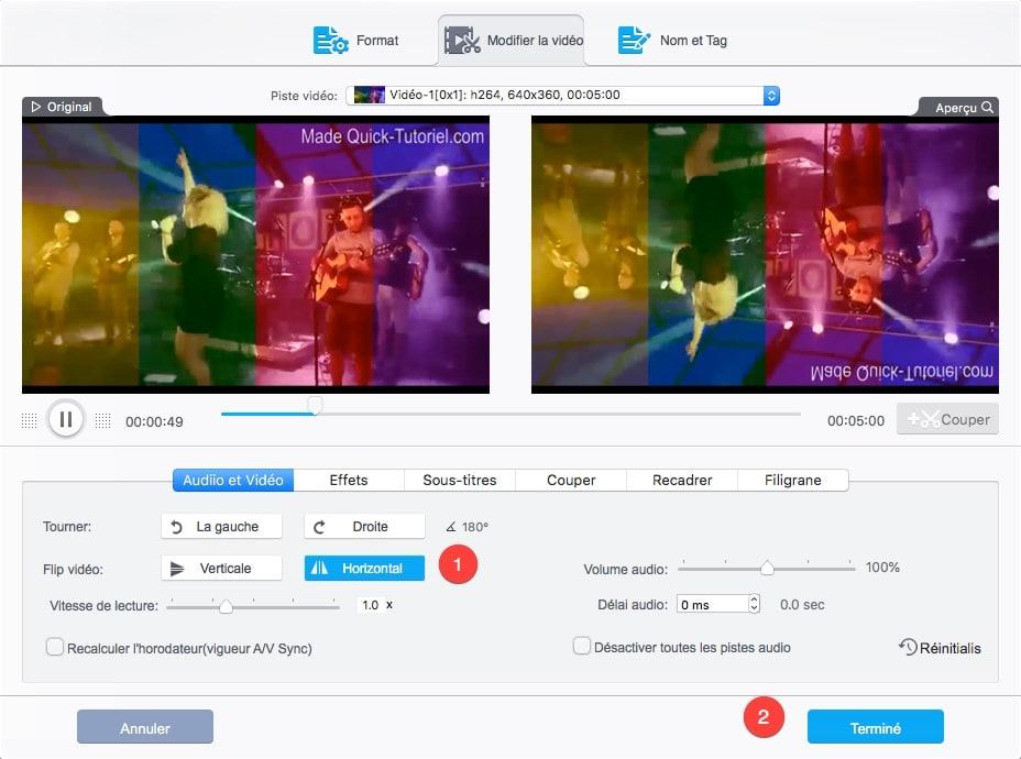 Comment faire pivoter des vidéos avec VideoProc.