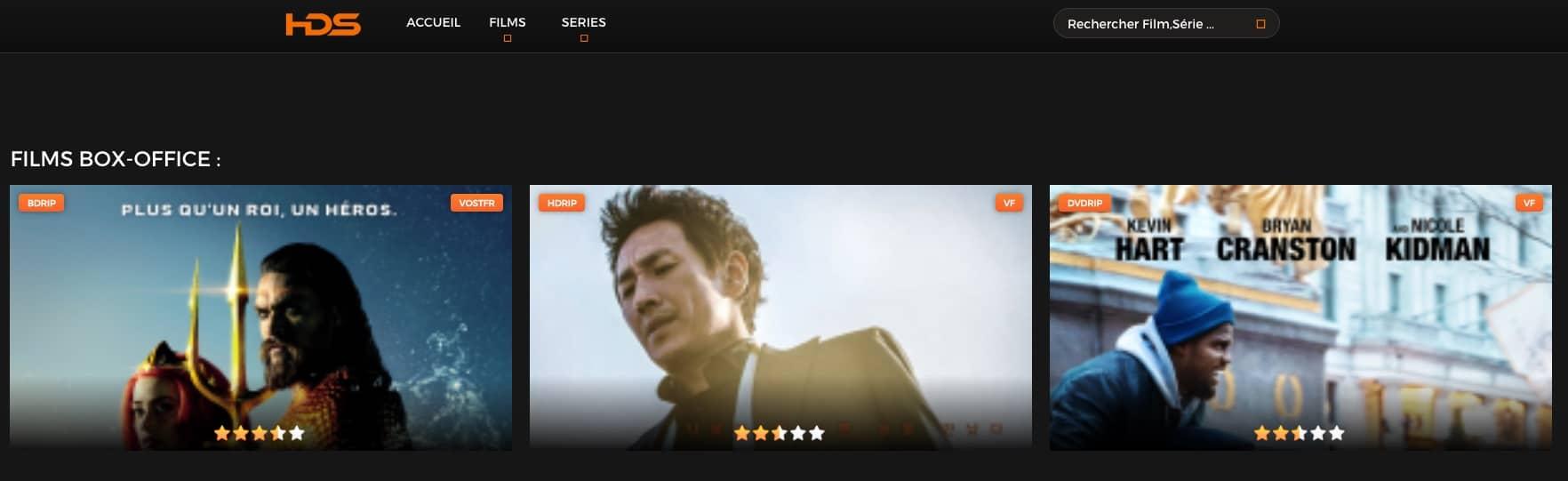 HDSS Streaming gratuit Films complet en VT et VOST