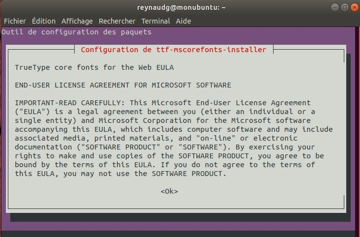 Installer les codec Multimédia sur Ubuntu.