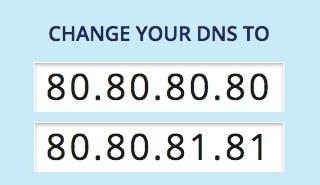 Changer vos DNS pour utiliser ceux de Freenom