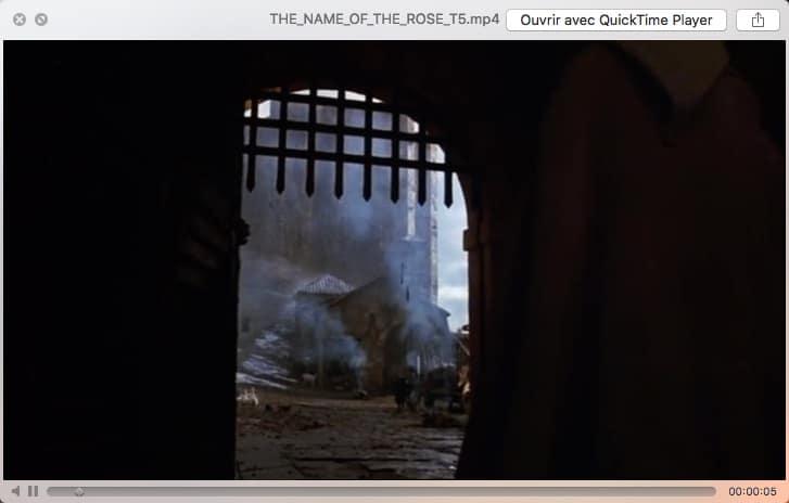 Extraction d'une scène d'un DVD avec Macx Ripper DVD Pro