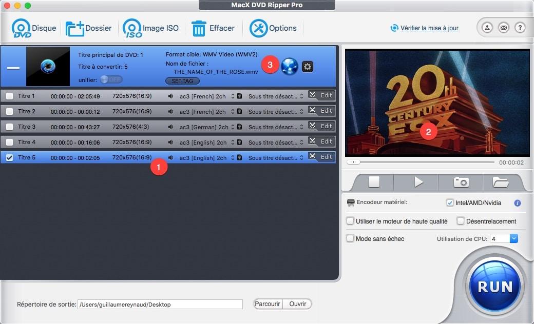 Comment publier une vidéo sur les réseaux sociaux avec Macx DVD Ripper Pro