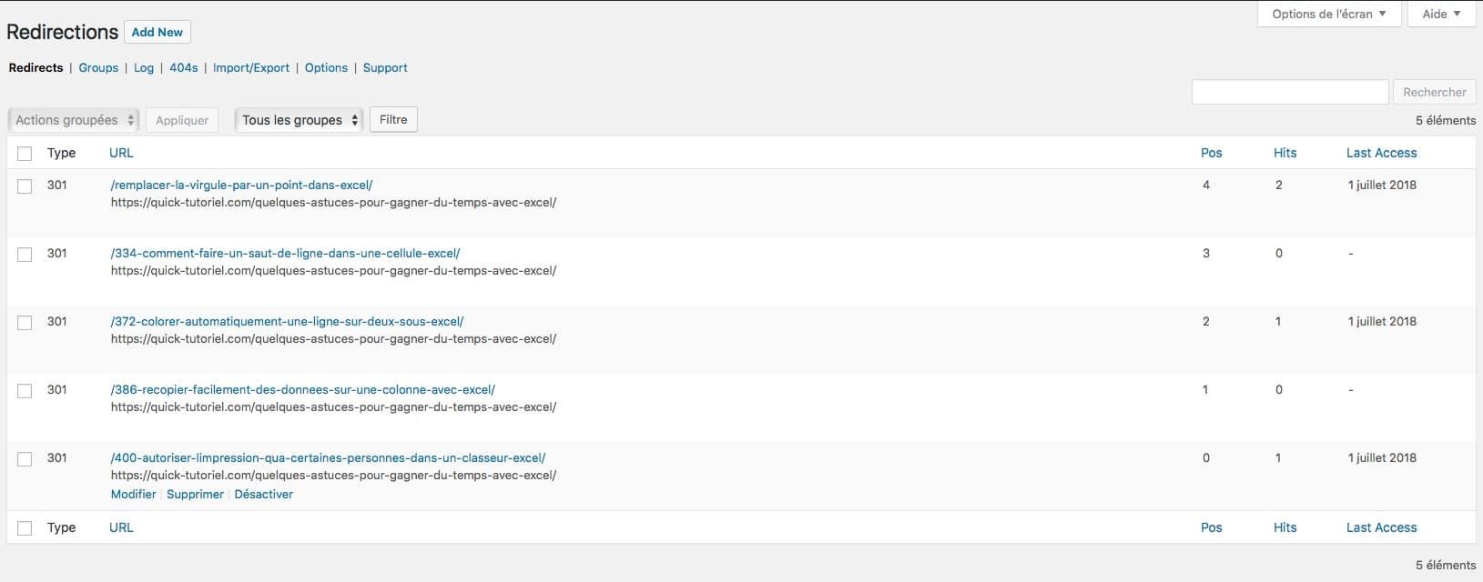 Mettre en place un système de redirections sur votre blog pour améliorer votre SEO