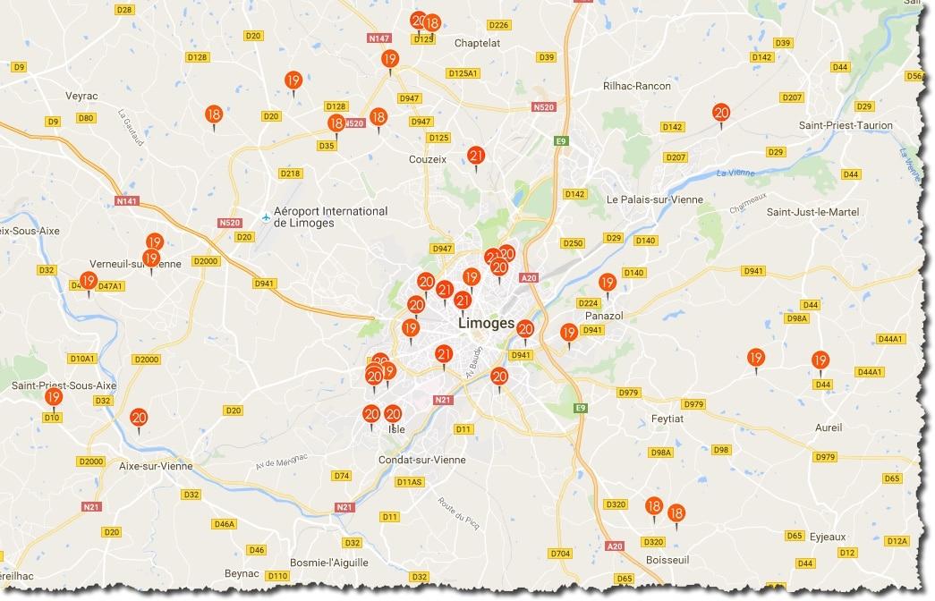 Weathermap Netatmo pour connaitre le temp avec les autres stations météo connectés Netatmo dans le monde.