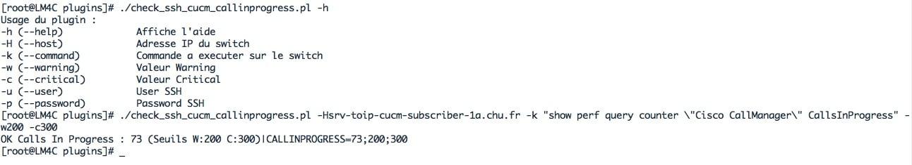 script PERL Check_ssh_cucm_callinprogress.pl qui permet de superviser le nombre d'appel en cours sur le CUCM