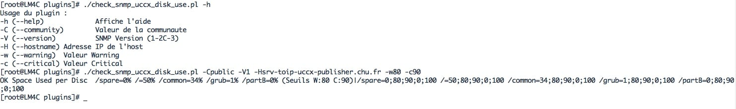 script PERL Check_snmp_uccx_disk_use.pl qui permet de superviser les partitions de la VM