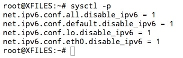 Désactiver l'IPV6 sur Ubuntu dans le fichier sysctl.conf