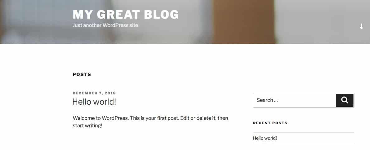 En quelques minutes vous avez un site WordPress fonctionnel, en local pour faire tous vos tests de plugin, thème, ….
