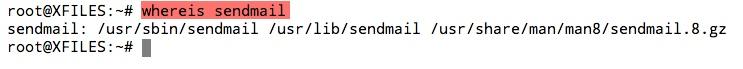 Vérifier si Sendmail est installé sur un serveur Linux