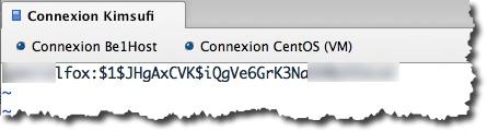 utiliser un site internet pour crypter les informations du fichier .htpasswd