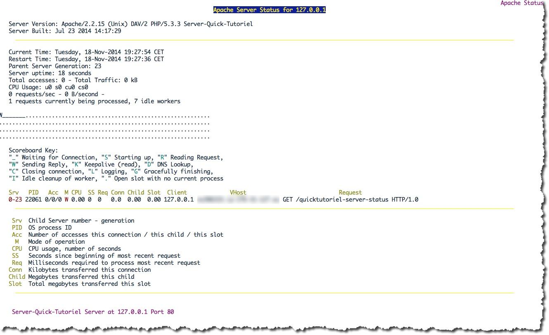 Visualiser les statistiques de votre serveur Apache en ligne de commande avec Lynx
