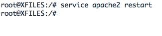 Redémarrer le service Apache sous Ubuntu