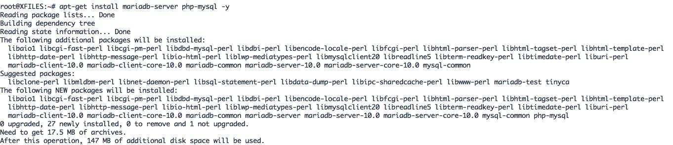 Installer MariaDB sous Ubuntu