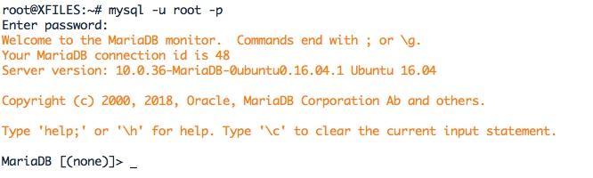 Se connecter à un MariaDB