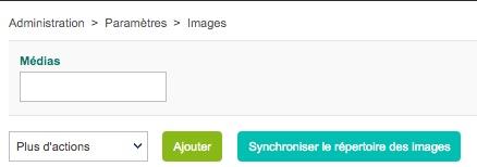 Synchroniser le répertoire des images dans Centreon Web