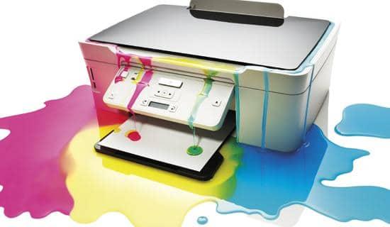 Nettoyage d'imprimante à jet d'encre.