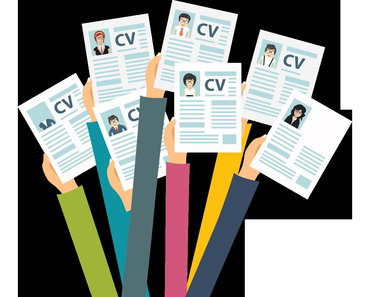 Le CV en ligne pour décrocher un entretient.