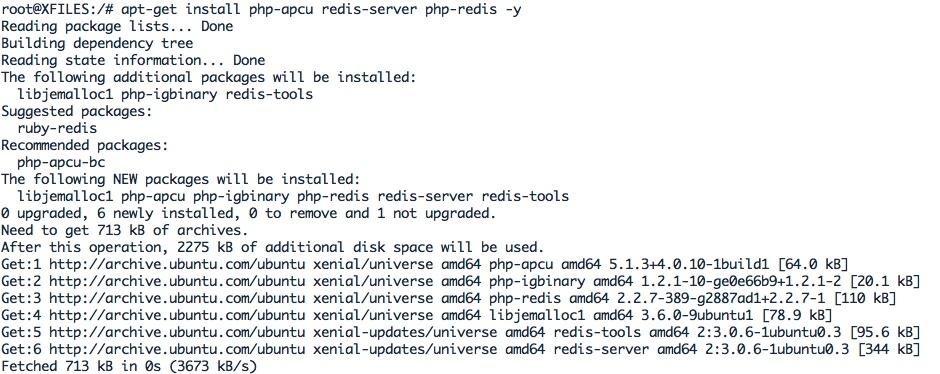Activer le cache redis-server pour votre instance Nextcloud