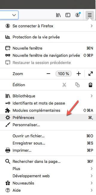 Comment activer le mode DoH sous Firefox