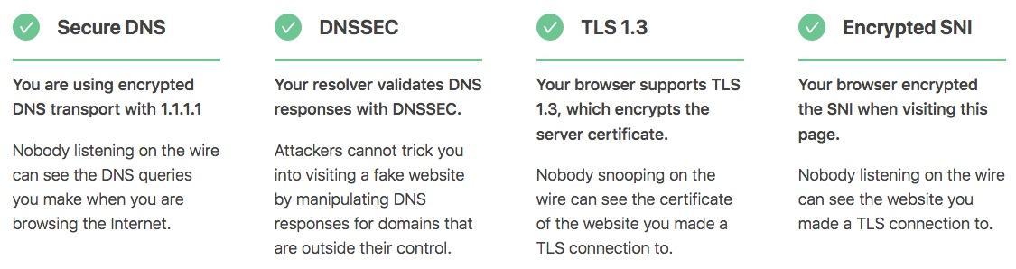 Activer le chiffrement SNI sous Firefox