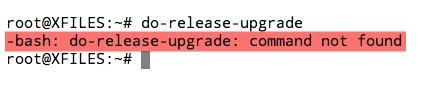 Fonction do-release-upgrade pour passer à une version supérieure d'Ubuntu